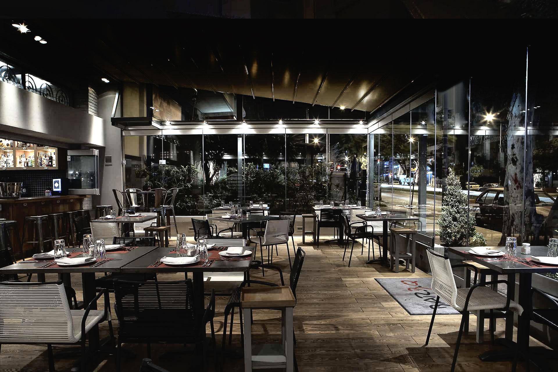 Η ατμόσφαιρα του εστιατορίου